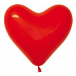 """Сердце 12"""" (30 см), Красный 629070 1шт."""